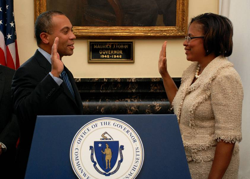 Governor Swears in Commissioner Sherri Killins